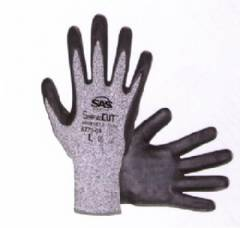 SafeCut HPPE Knit Glove, Nitrile Palm