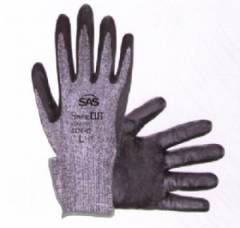 6776 SafeCut Aramid Yarn Glove Nitrile Palm
