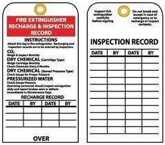 FIRE EXT. INSPECTION TAG