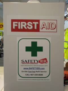 ANSI 2015 B+ FIRST AID 4 SHELF CABINET