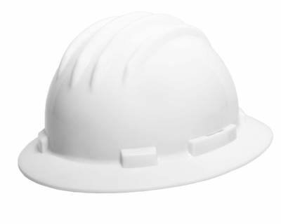 IRONWEAR Full Brim Suspension Ratchet Closure Hard Hat BUY A CASE OF 20 TO GET A DISCOUNT!!