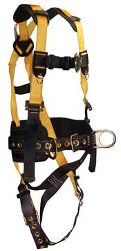 JOURNEYMAN/BELTED CONSTRUCTION HARNESS
