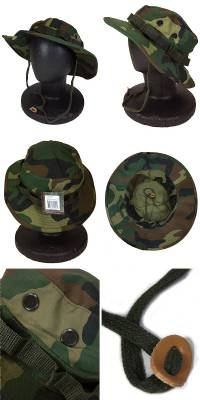 8abfb484bf9ba Safety ER  WOODLAND-CAMO Duck BOONIE HAT