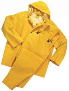 WEST CHESTER YELLOW RAIN SUIT