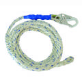 "5/8"" PREMIUM POLYESTER ROPE W/1 SNAP HOOK AND BRAID-END"