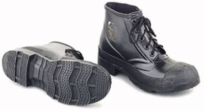 "6"" 5 EYELET RUBBER STEEL TOE BOOTS with Cleated Outsole"