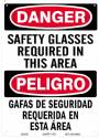 DGR. SAFETY GLASSES REQUIRED