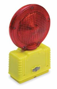 BARRICADE RED LIGHT w/Photocell