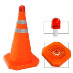 "Collapsible 28"" Cone W/LED Light"