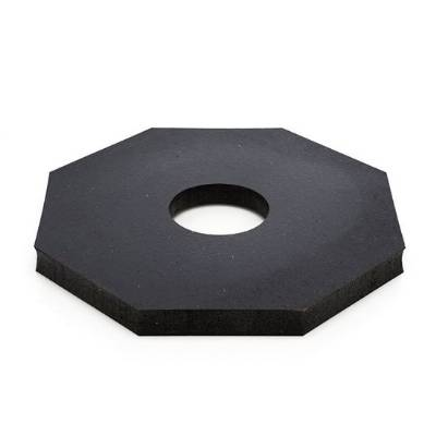 DELINEATOR JBC RUBBER BASE FOR V-TOP & D-TOP